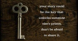 The importance of sharing your story